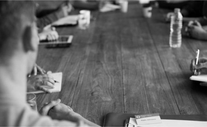 Meeting, Notizblock, Fortbildung, Führungskraft