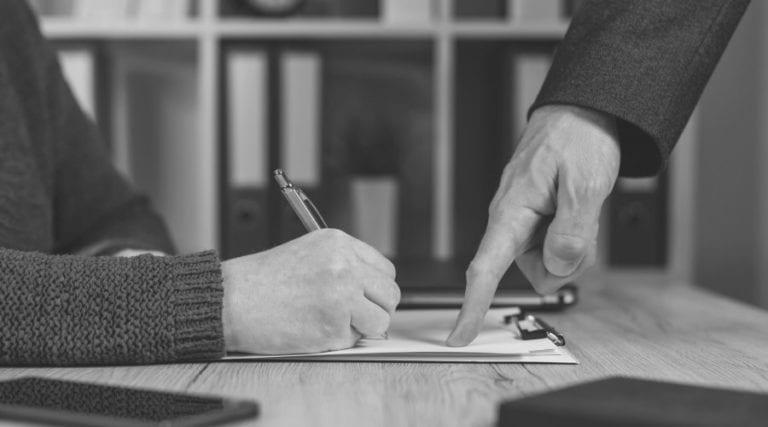 schreibende Hand, zeigende Hand, Führung, Begeisterung