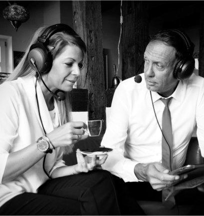 Doppelter Espresso, Strupat, Zacher-Handke, Führung, Podcast