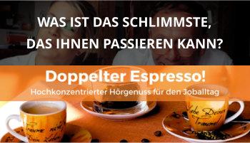Cover Doppelter Espresso Folge Worst Case, Führung