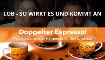 Cover Doppelter Espresso Folge 16, Lob, Führung