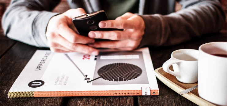smartphone, nutzung, arbeitsplatz, führung, begeisterungsland