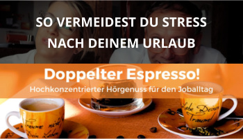 Doppelter espresso Podcast Folge 42 urlaubsvorbereitung cover