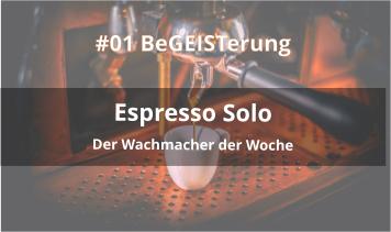 espresso solo podcast cover foto