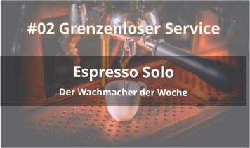 espresso solo podcast cover grenzenloser service