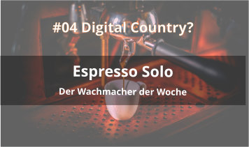 espresso solo podcast digital country